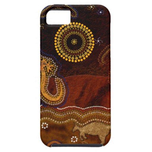 Australian Aboriginal Art Design iPhone 5 Cover