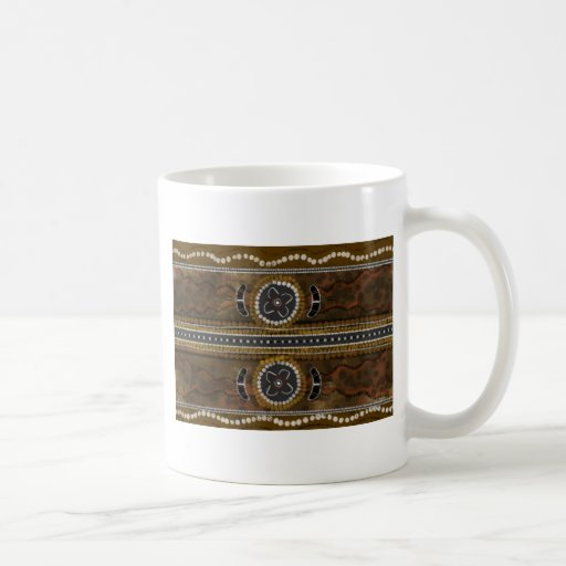 Australian Aboriginal Art - Food Gathering Coffee Mug
