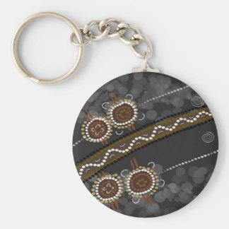 Australian Aboriginal Art - Lost Tribes Keychain