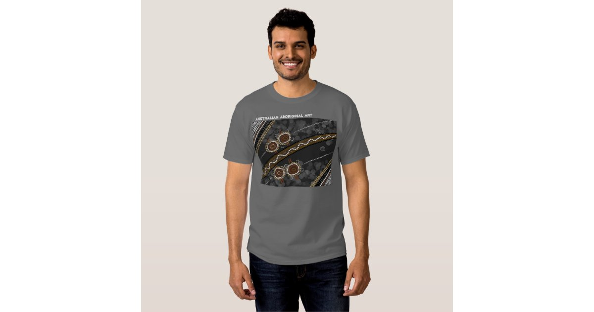 Australian Aboriginal Art Tshirt  Zazzle