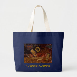Australian Aboriginal Aussie Desert Art Bag