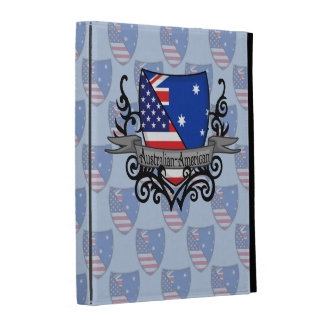 Australian-American Shield Flag iPad Case