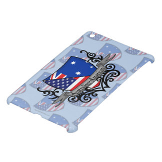 Australian-American Shield Flag iPad Mini Covers