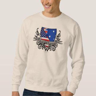 Australian-American Shield Flag Sweatshirt
