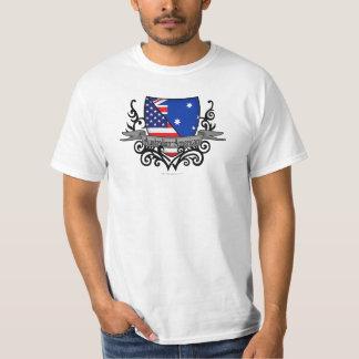 Australian-American Shield Flag Tshirt