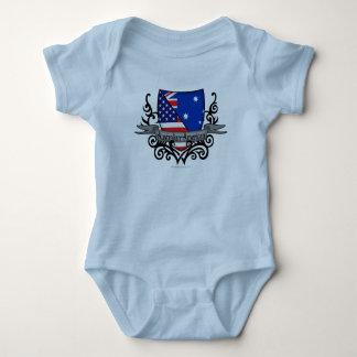 Australian-American Shield Flag Tshirts