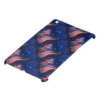 Australian-American Waving Flag Case For The iPad Mini
