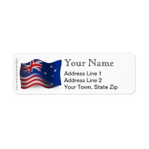 australian return address labels zazzle com au