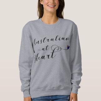 Australian At Heart Sweatshirt, Aus Sweatshirt