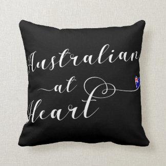 Australian At Heart Throw Cushion, Aus Cushion