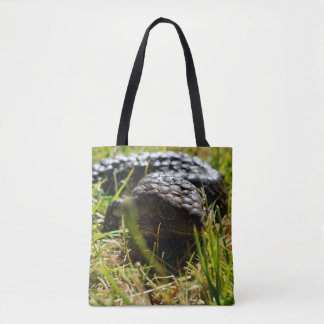 Australian Blue Tongue Lizard, Shopping Bag. Tote Bag