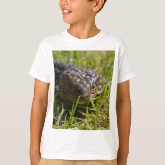 Australian Blue Tongue Lizard, The Face, T-Shirt