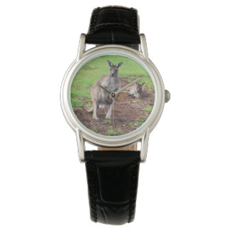 Australian Buck Kangaroo, Ladies Leather Watch. Watch