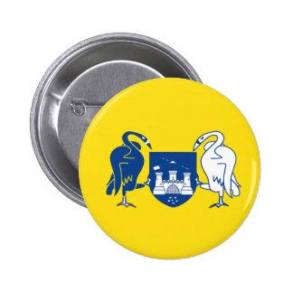 Australian Capital Territory Flag 6 Cm Round Badge
