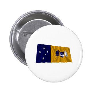 Australian Capital Territory Waving Flag Buttons