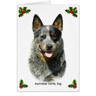 Australian Cattle Dog 9F061D-03 Greeting Card