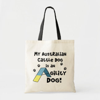 Australian Cattle Dog Agility Dog Tote Bag