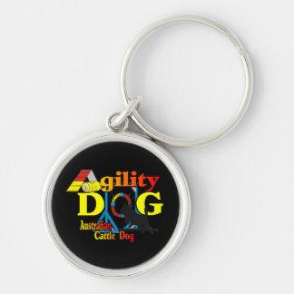 Australian Cattle Dog Agility Key Ring