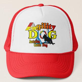 Australian Cattle Dog Agility Trucker Hat