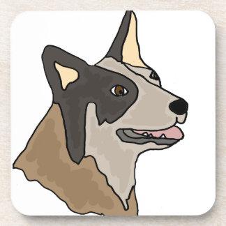 Australian Cattle Dog Art Drink Coasters