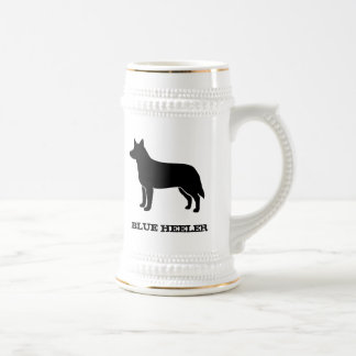 Australian Cattle Dog Beer Stein