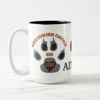 Australian Cattle Dog Breed Personalized Mug