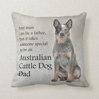 Australian Cattle Dog Dad Pillow