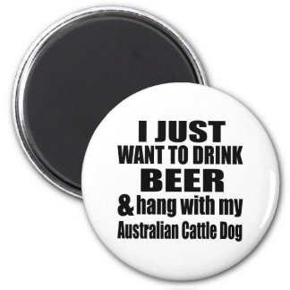 Australian Cattle Dog Designs Magnet