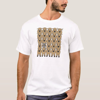 Australian Cattle Dog in the Herd T-Shirt