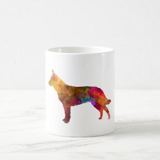 Australian Cattle Dog in watercolor Coffee Mug