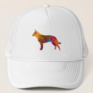Australian Cattle Dog in watercolor Trucker Hat