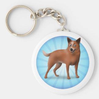 Australian Cattle Dog Key Ring