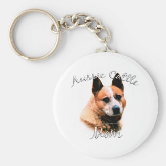 Australian Cattle Dog Mom 2 Key Ring