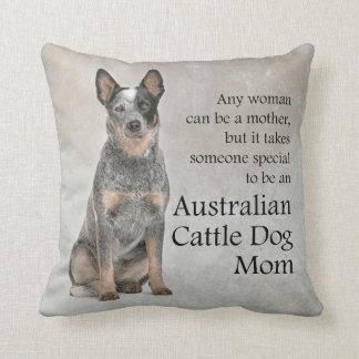 Australian Cattle Dog Mom Pillow