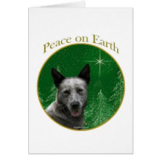 Australian Cattle Dog Peace Greeting Card