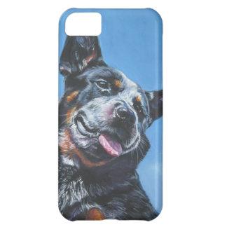 Australian Cattle Dog  portrait iphone blue heeler iPhone 5C Case