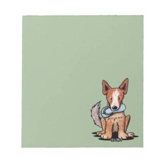 Australian Cattledog Notepad