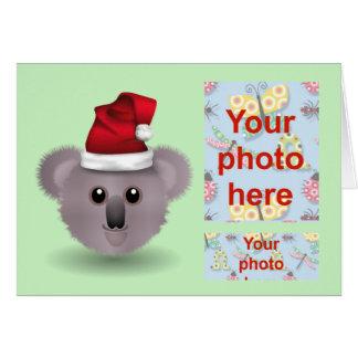 Australian Christmas Happy Holidays Season's Greet Greeting Card