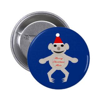Australian Christmas Koala Bear Button