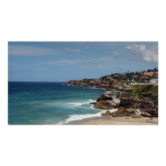 Australian Coastline Poster