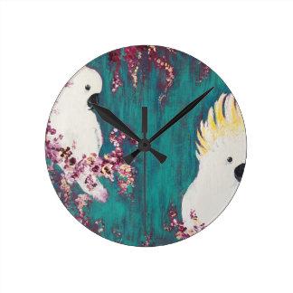 Australian Cockatoo Clock