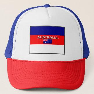 Australian Colors Flag Trucker Hat