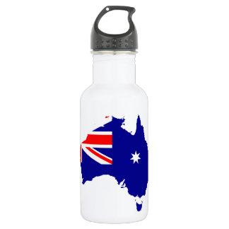 Australian country flag 532 ml water bottle