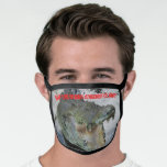Australian Crocodile Face Mask