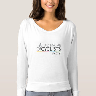 Australian Cyclists Party Womens Long Sleeve T T-Shirt