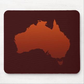 Australian Desert Shape Mouse Pad