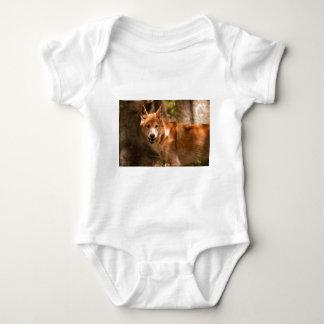 Australian Dingo Baby Bodysuit