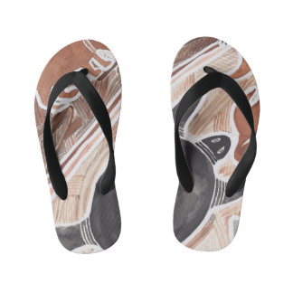 Australian Dream Mythical Animals Turtle Flip-Flop Kid's Thongs