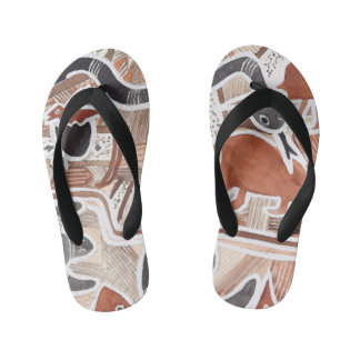 Australian Dreams Mythical Animals 5 Flip-Flop Kid's Thongs