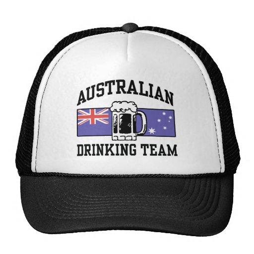 Australian Drinking Team Trucker Hat
